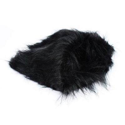 2-TECH Löwenmähne für Hunde in schwarz 42x37cm