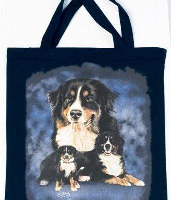 Berner-Sennenhund-Tasche-Christina-Btzel-Einkaufstasche-Tragetasche-Stoffbeutel-Beutel-Bag-Bern-Senne-Hund-Hunde-Geschenk-Geburtstag-0