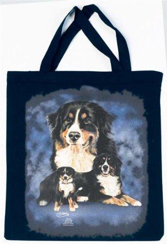 Berner Sennenhund Tasche - Christina Bötzel - Einkaufstasche Tragetasche Stoffbeutel Beutel Bag Bern Senne Hund Hunde Geschenk Geburtstag