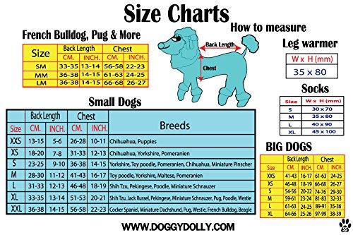 Doggy Dolly W109 Hundejacke Wasserabweisend mit Kapuze, schwarz/grau, Wintermantel/Winterjacke, Größe : XXL