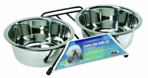 Dogit 73522 Doppel-Hundenapfstaender, 2 x 750 ml