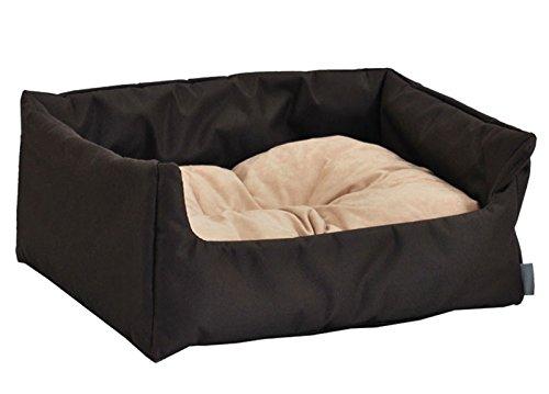 "Hundebett Hundekorb ""Aruba"" 100% Polyester Braun II M - 70cmx60 cm W204 10"