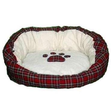 Hundebett Hundeliege Hunde Bett Schlafbett 100 x 80 x 22 cm