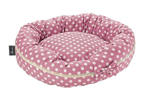 Hunter 60976 Hundedonut Dotty, rosa, Ø 45 cm