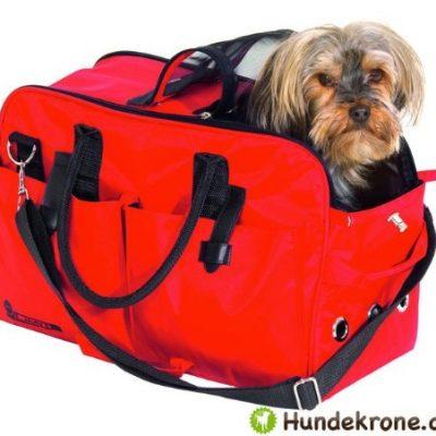 IATA-Teflon-Hundeflugtasche-Hunde-Tragetasche-Flugtasche-fr-die-Flugkabine-Rot-Bis-12-KG-0