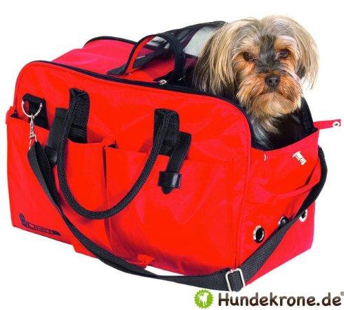 iata teflon hundeflugtasche hunde tragetasche flugtasche f r die flugkabine rot bis 12 kg. Black Bedroom Furniture Sets. Home Design Ideas