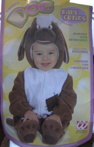 Kinder-Kostüm-Set Hund  Grösse 86/92