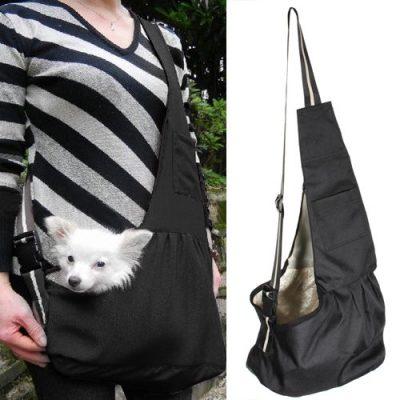 Kleine-Hunde-Welpen-Katze-Tasche-Hundetasche-Haustier-Umhnge-Tragetasche-Transporttasche-L-0