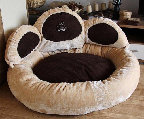 knuffelwuff 12749 pfoten hundebett luena gr e xxl 110. Black Bedroom Furniture Sets. Home Design Ideas