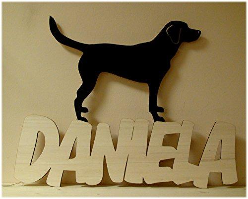 labrador hund dekoleuchte nachtlicht lampe mit namen das. Black Bedroom Furniture Sets. Home Design Ideas