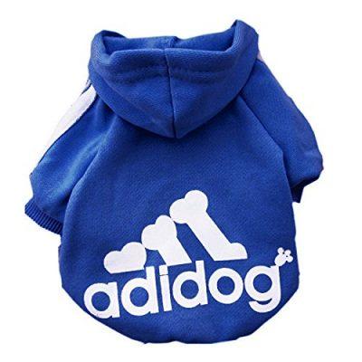 Moolecole - Haustier Hund Katze Pullover Welpen-T-Shirt Warm Pullover Mantel Kleidung Bekleidung (M)