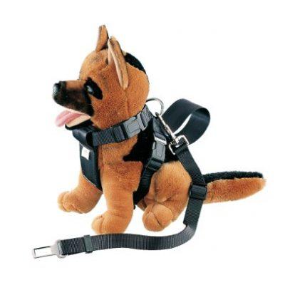 Nobby 75323 Hunde-Hunde-Geschirr inklusiv Sicherheitsgurt fürs Auto Gr. M, Hals: 56 cm, Brust: 70 cm