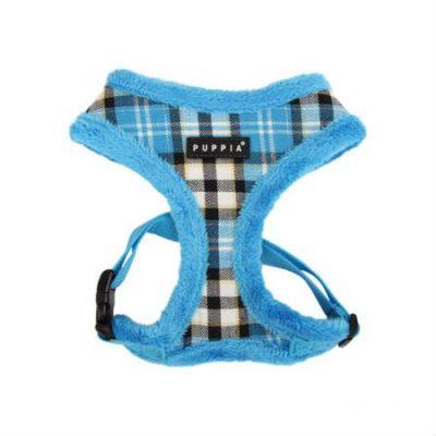 Puppia PAMD-AC041 Hundegeschirr Uptown, M, blau