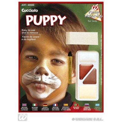 Schminkset Tiere für Kinder Hund