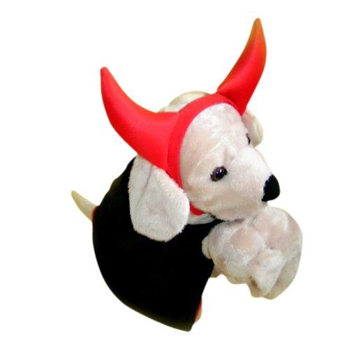 teufel f r hund hunde kost m pelerine h rner fasching karneval halloween ich liebe hunde von. Black Bedroom Furniture Sets. Home Design Ideas