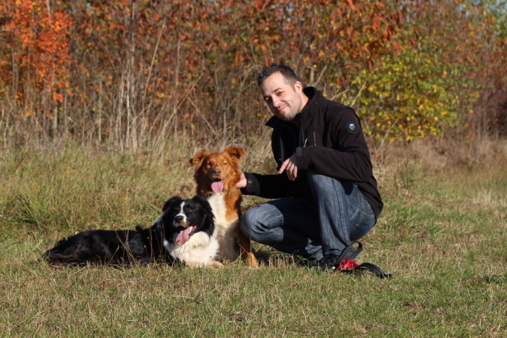 Hunde Foto: Thomas und Aiko & Sky - Wir drei ein super Team