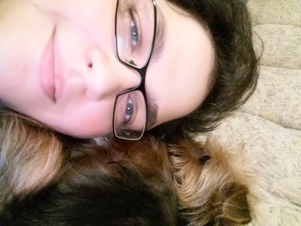 Hunde Foto: Saviana und Nicky - Meine Nicky ist so groß wie mein gesicht