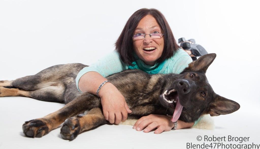 Hunde Foto: Tanja und Shakira vom Gsiberger - Wir zwei ENGEL....
