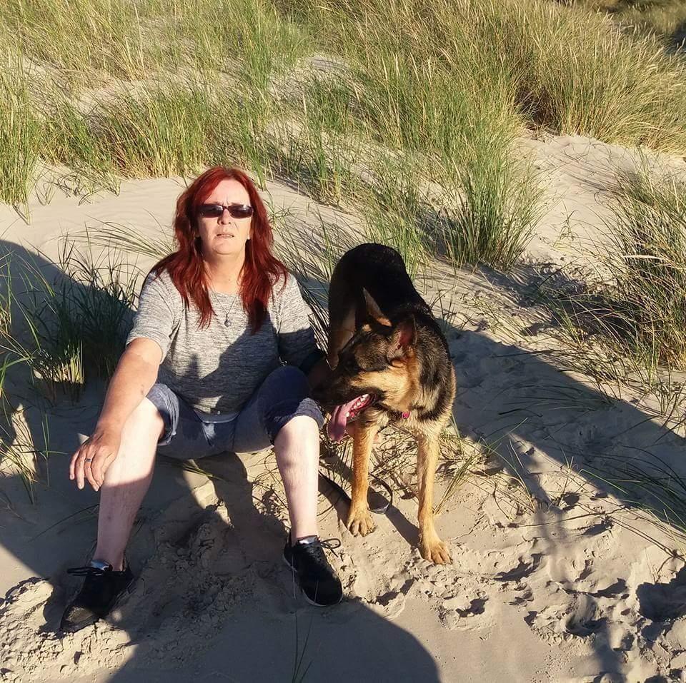 Hunde Foto Petra Und June Und Frauchen Frauchen Fertig
