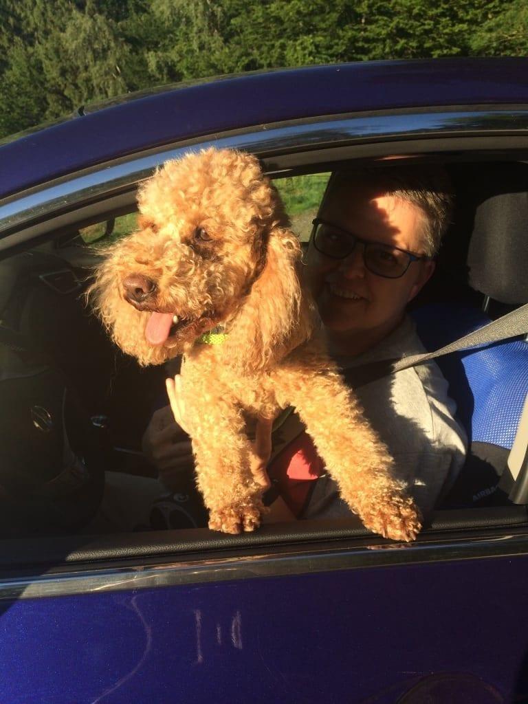 Hunde Foto: Petra und Krümel - Die Sonne ist da 😃